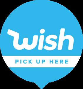 Wish Pick-Up Shop Logo